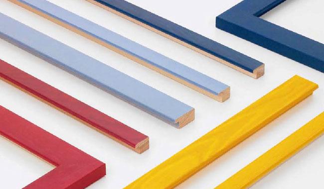 Produzione e vendita cornici colorate Verona